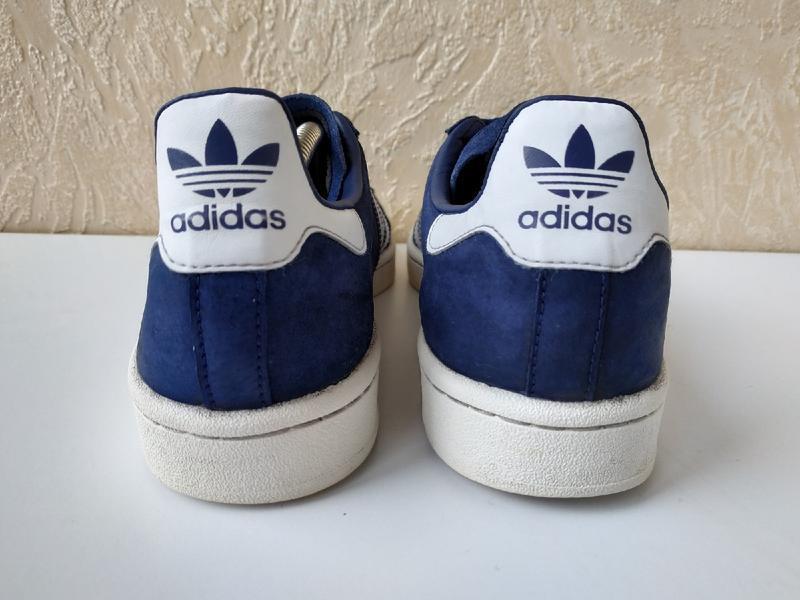 Кожаные кросовки adidas campus оригинал, 42 размер - Фото 3