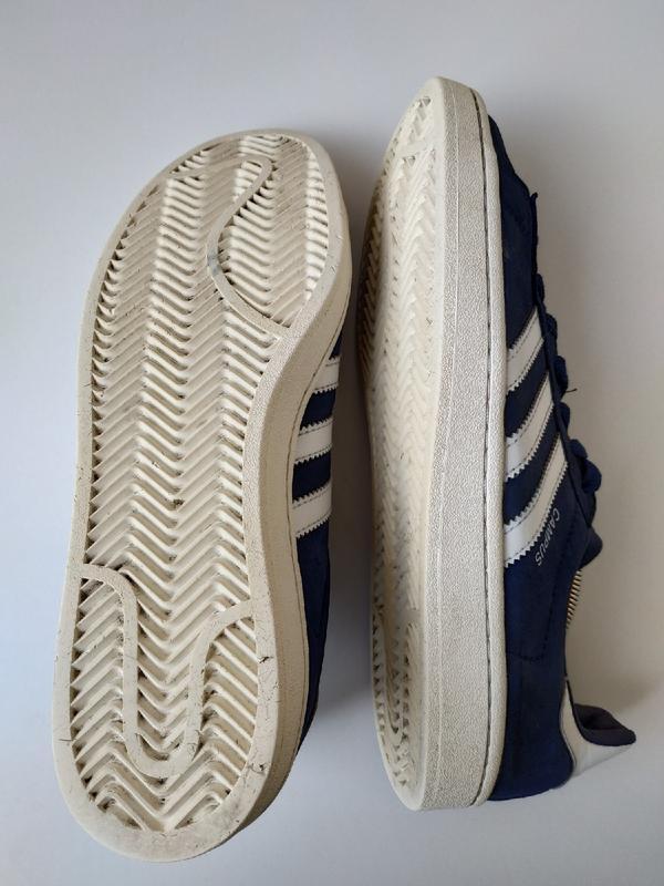 Кожаные кросовки adidas campus оригинал, 42 размер - Фото 4