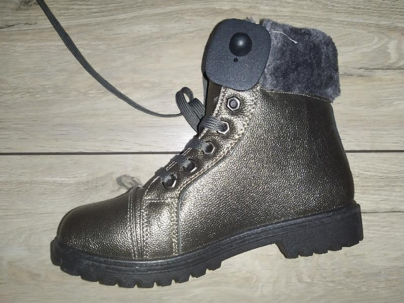 Утеплены женские ботинки деми осень евро зима низкий ход жіноч... - Фото 3