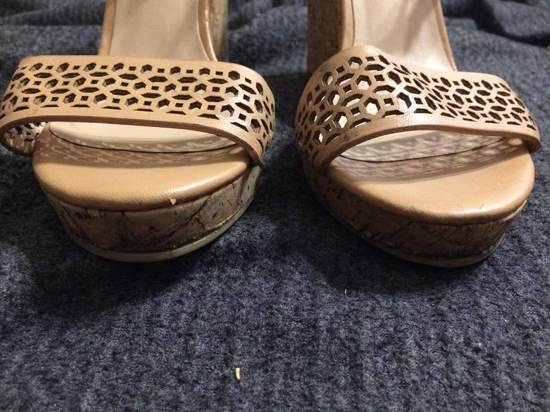 F&f босоножки сандали на танкетке платформе - Фото 3