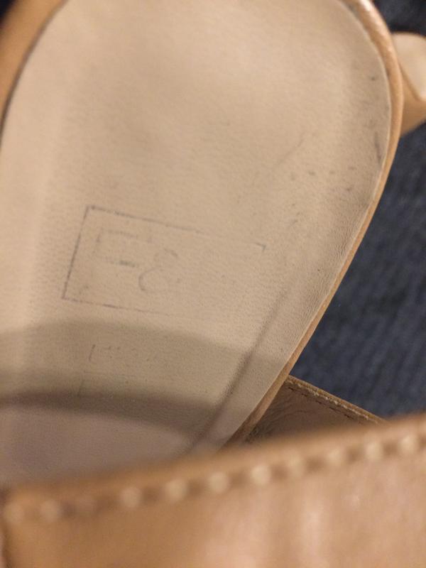 F&f босоножки сандали на танкетке платформе - Фото 6