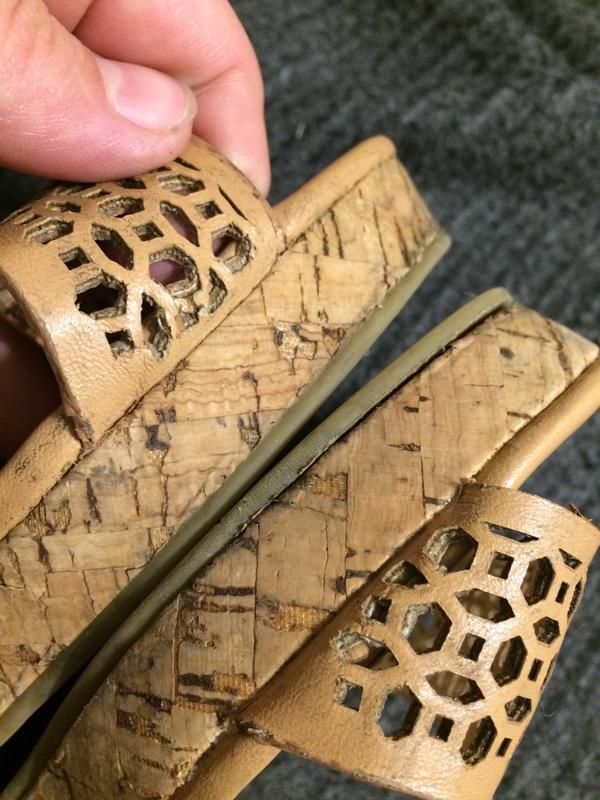 F&f босоножки сандали на танкетке платформе - Фото 7