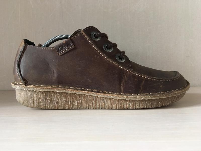 Кожаные мокасины clarks artisan оригинал туфли
