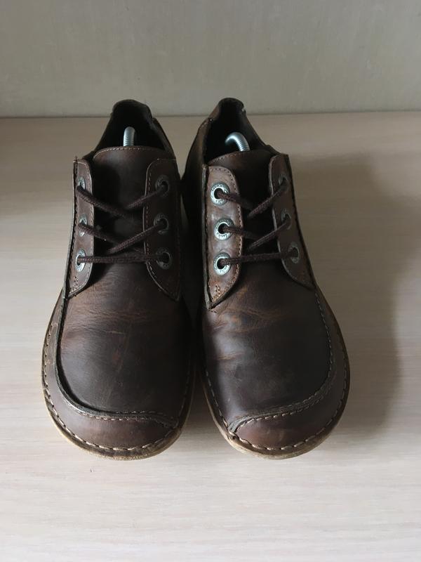Кожаные мокасины clarks artisan оригинал туфли - Фото 2
