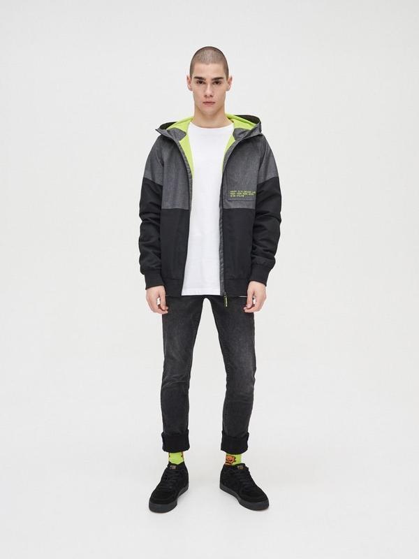 Мужская куртка ветровка cropp - Фото 2