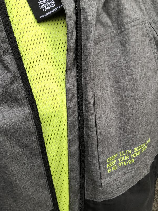Мужская куртка ветровка cropp - Фото 4