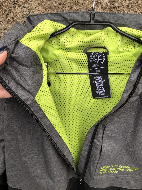 Мужская куртка ветровка cropp - Фото 5