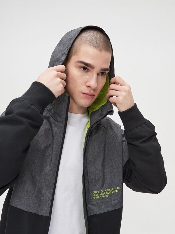Мужская куртка ветровка cropp - Фото 6