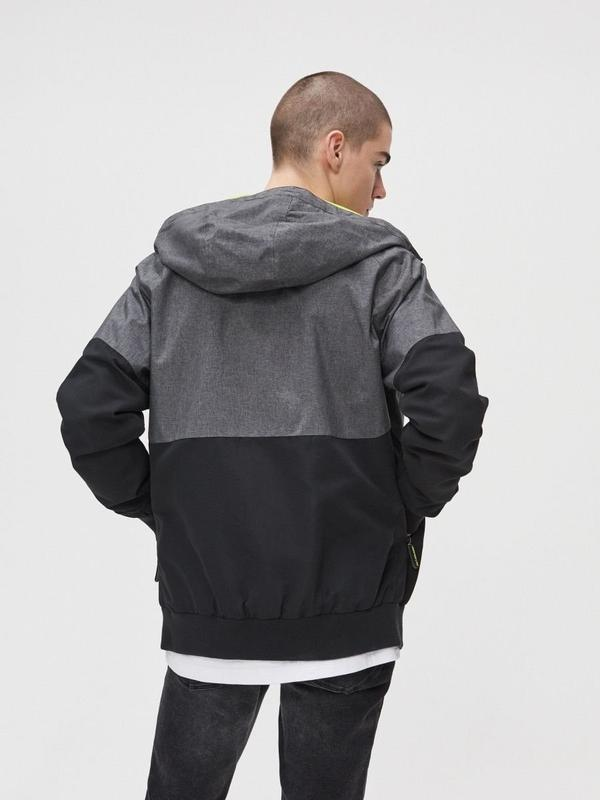 Мужская куртка ветровка cropp - Фото 7