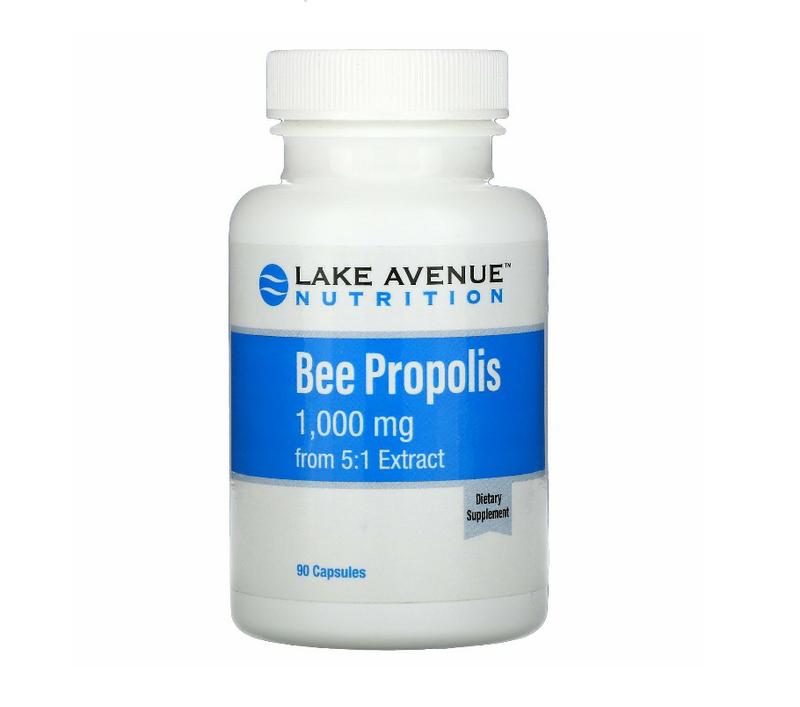 Пчелиный прополис, экстракт 5:1, эквивалент 1000 мг
