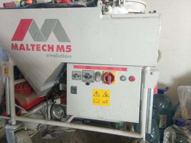 Штукатурная машина Maltech M5 Evo - Фото 2
