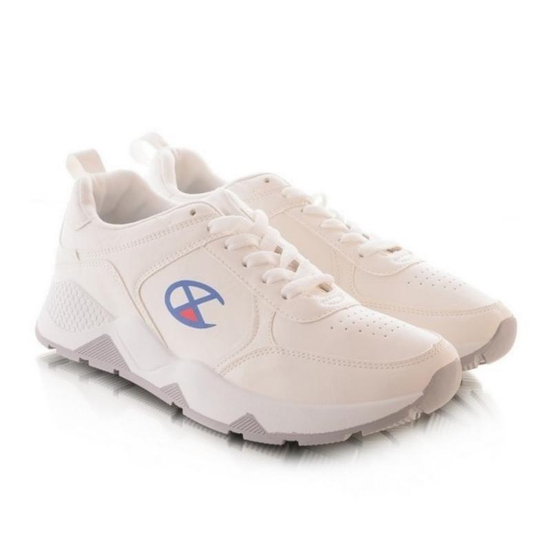 Мужские кроссовки молочного цвета - Фото 2