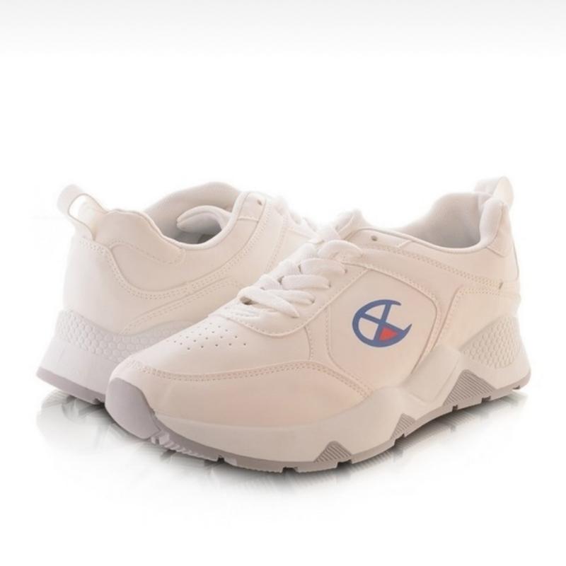 Мужские кроссовки молочного цвета - Фото 3