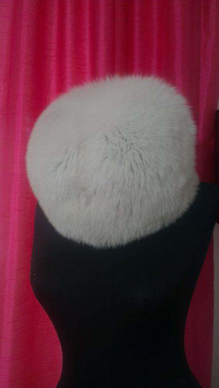 Фирменная, песцовая, базовая, меховая шапка, супер под пуховик... - Фото 2
