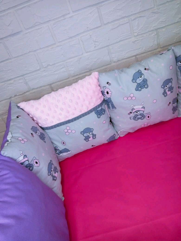 Набор бортиков в кроватку - Фото 2