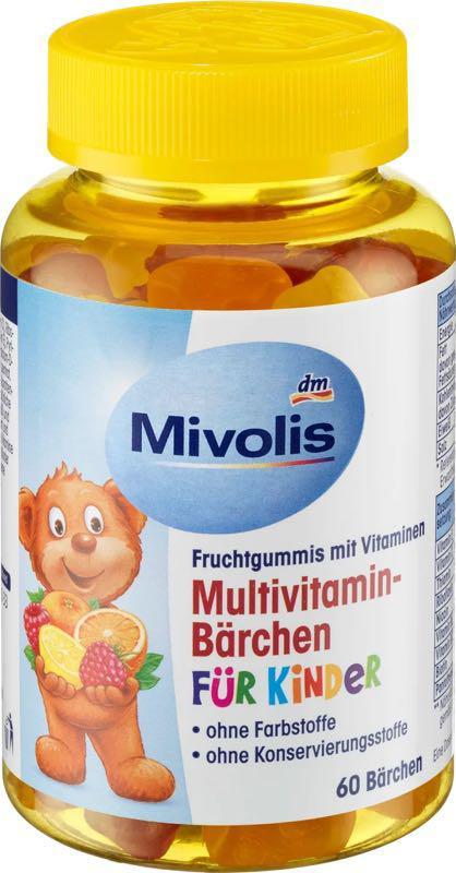 Ведмежуйки Mivolis мишки, витамины