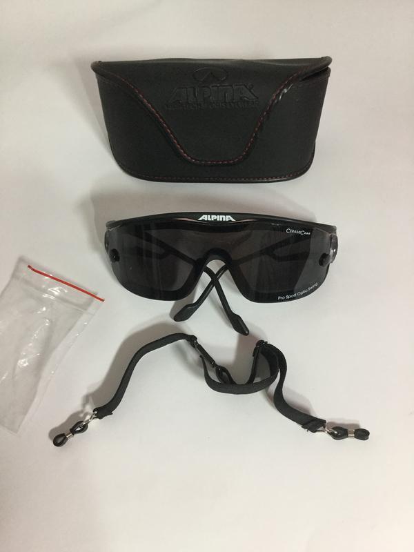 ..спортивные, профессиональные солнцезащитные очки alpina герм...