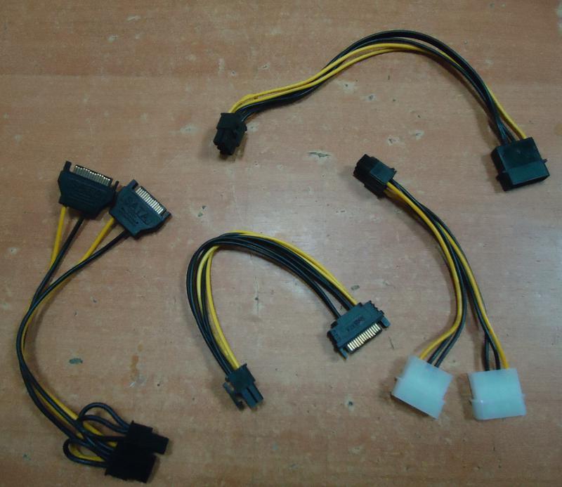 VGA Переходник для видеокарты 6 pin, 8 pin