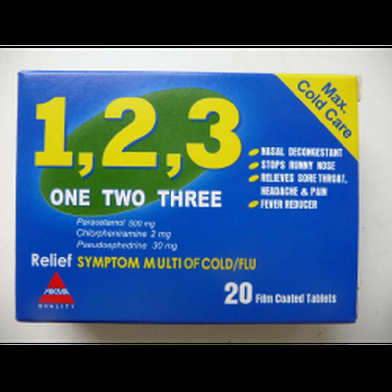 1,2,3 таблетки от простуды Египет