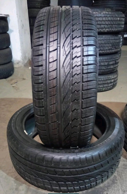 Пара 235/45 r19 Continental Cross Contact UHP - Фото 2