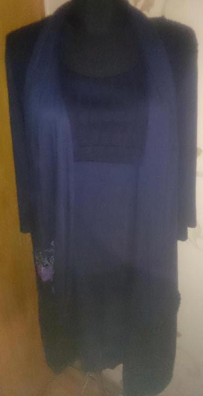 Стильна синя сукня р5/44 нова бірки deux mille