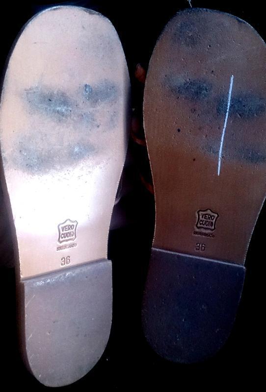 Стильні бежеві босоніжки шкіра р36 chiara gradi шкіра - Фото 3