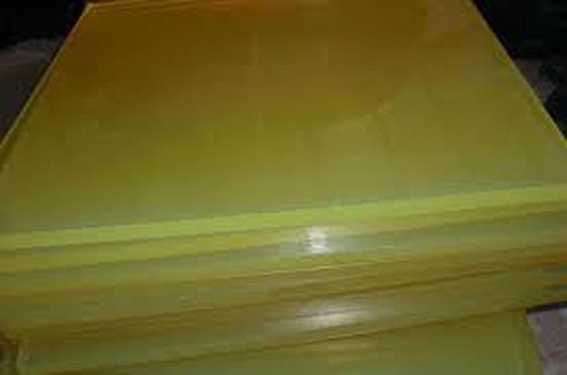 Полиуретан листовой 10 мм 1x1 м.