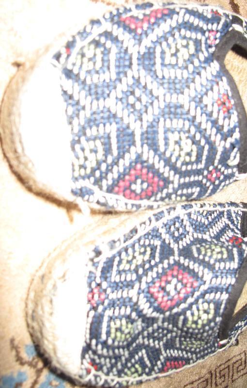 Сині мокасини р40 текстиль - Фото 3