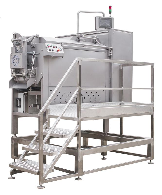 Пластификатор сырной массы, шнековый Steam cooker-stretching mach
