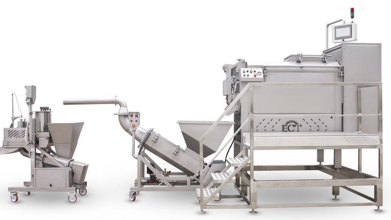 Пластификатор сырной массы, шнековый Steam cooker-stretching mach - Фото 3