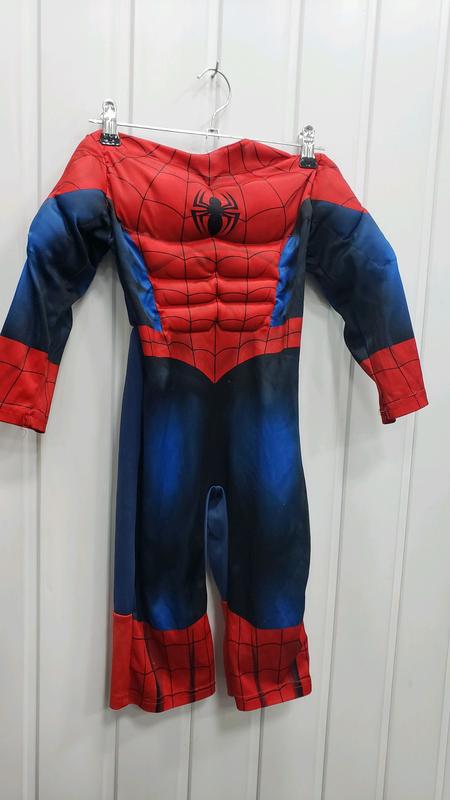 Маскарадный костюм человек паук 1-2 года