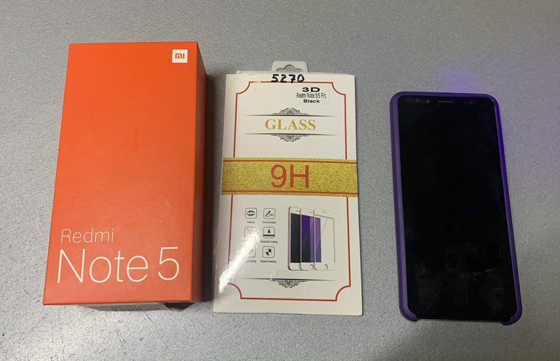 Смартфон Xiaomi Redmi Note 5 3/32GB Black - Фото 4