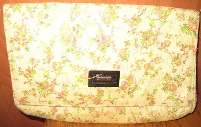 Жовтий плетений клатч h&m новий