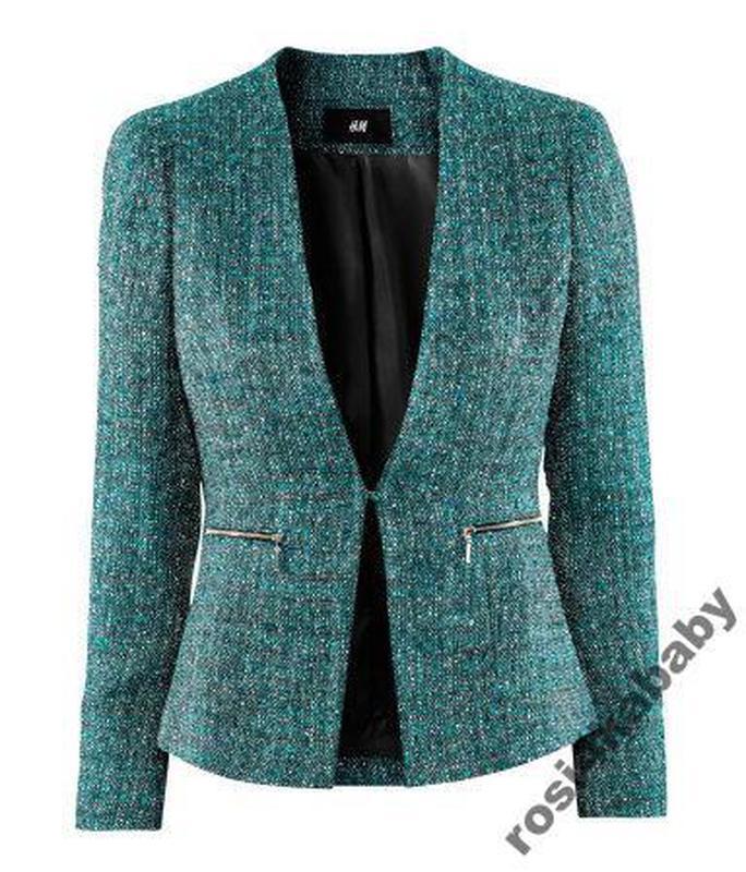 Стильний костюм блейзер+шорти handm р42 новий!