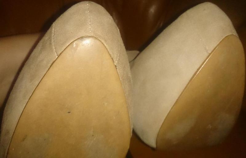 Стильні чорні туфлі р40 kg еко замша - Фото 3