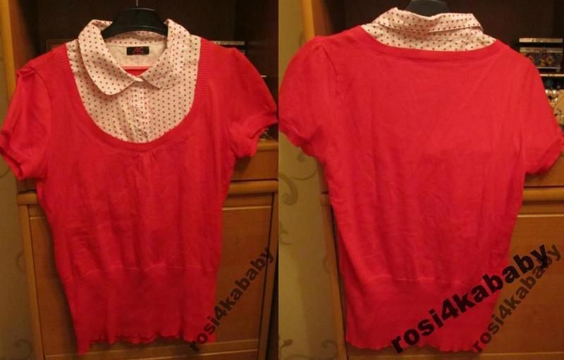 Стильна блуза-светрик р л ann cristine