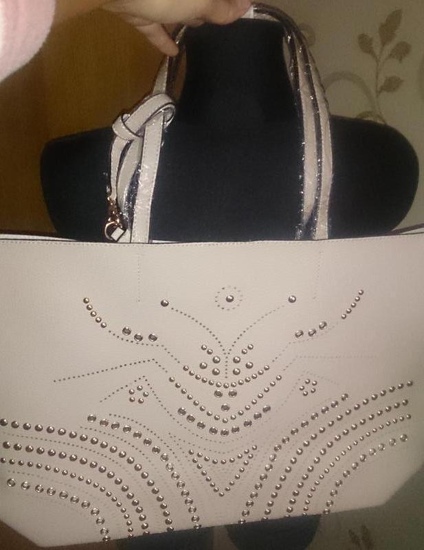 Стильна бежева сумка нова бірки zuiki