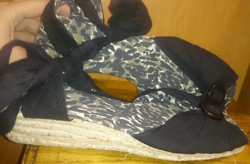 Легкі плетені чорні босоніжки текстиль р41 нові fashion safari