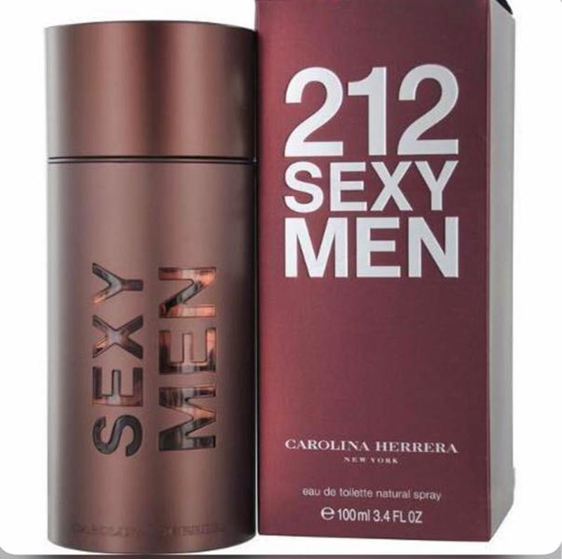 Туалетная вода для мужчин Carolina Herrera 212 Sexy Men 100мл (Ка