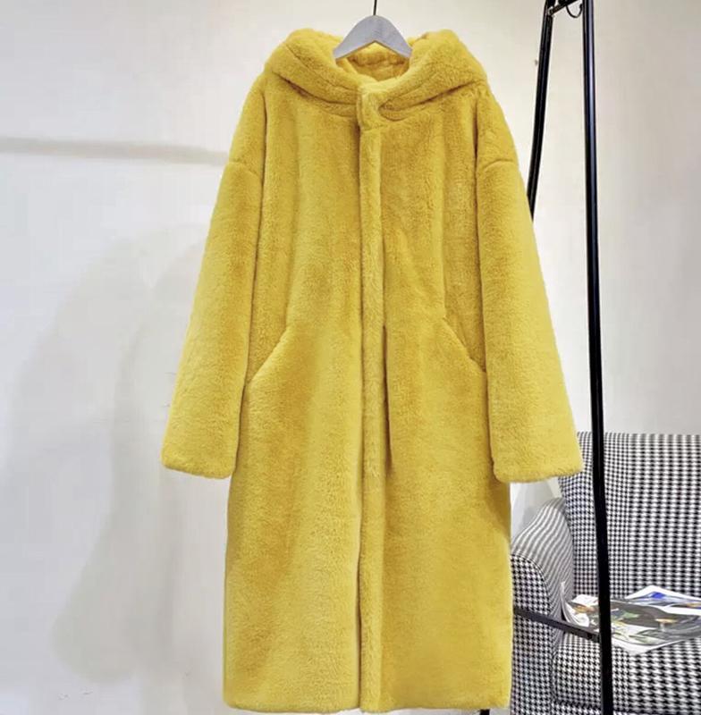 Шуба оверсайз пальто меховое мутоновая эко мех искусственный мех