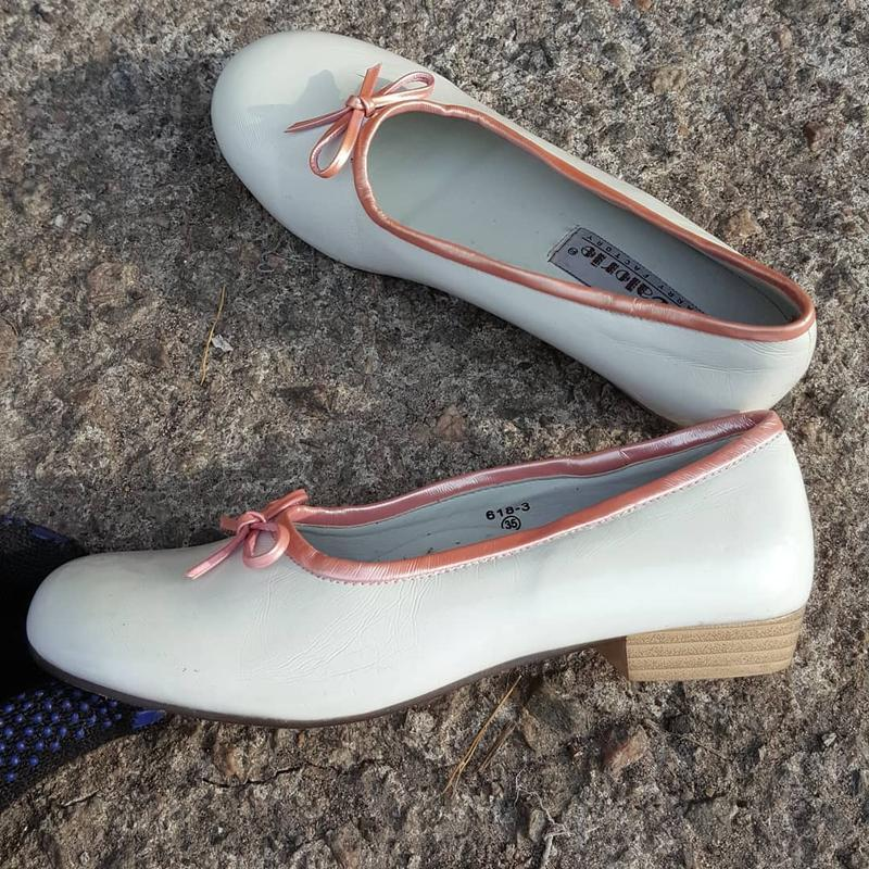 Нарядные лаковые туфли calorie