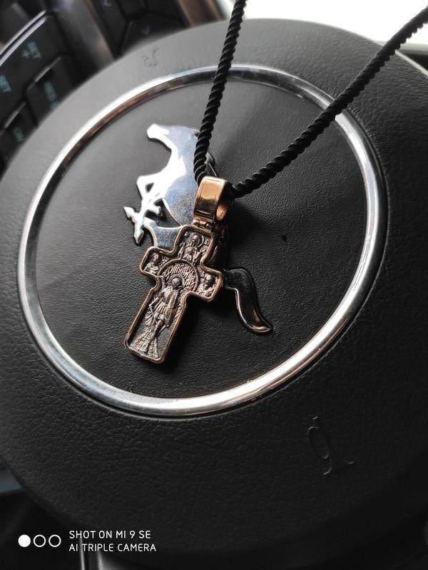 Крест с позолотой - Фото 2