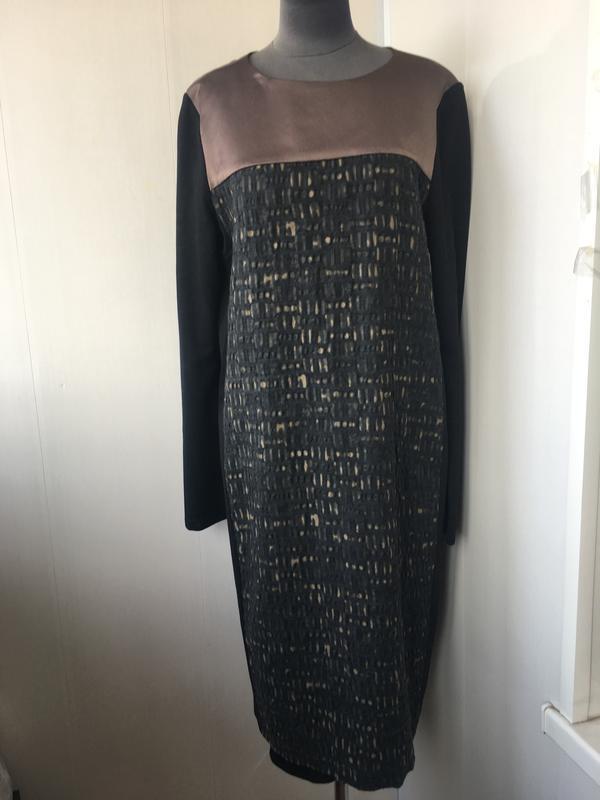 Статустное изысканое платье, дресс код, офис, max mara marella