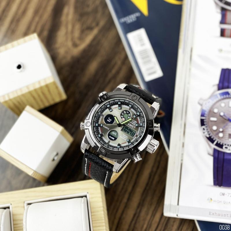 Стильные мужские наручные часы - Фото 2