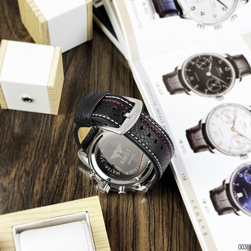 Стильные мужские наручные часы - Фото 3