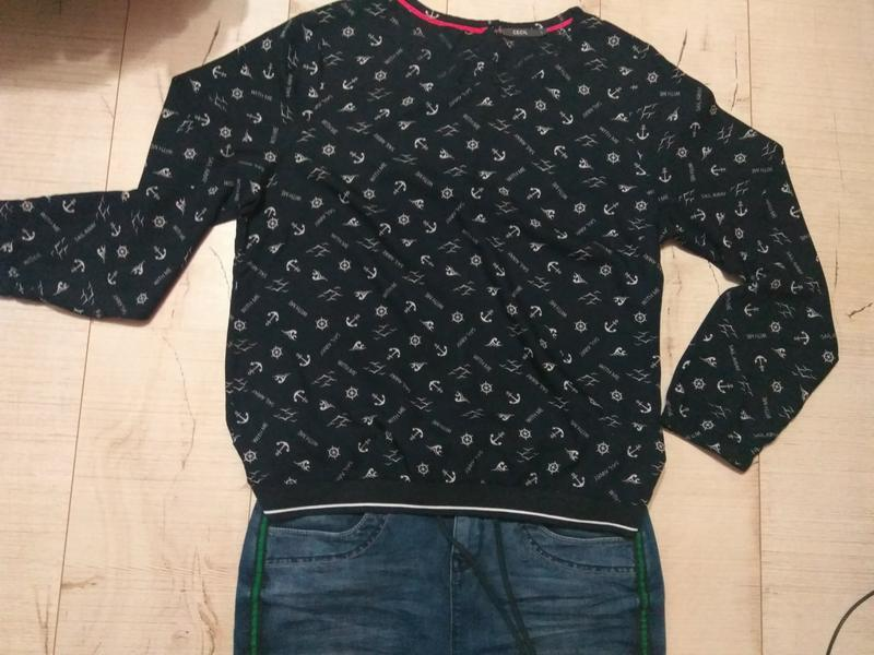 Блуза якоря