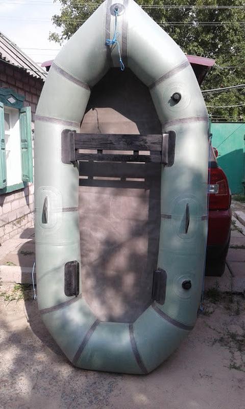 """Надувная резиновая лодка Лисичанка """"Чайка"""""""