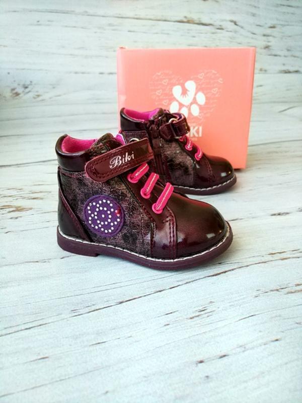Ботинки для девочек biki