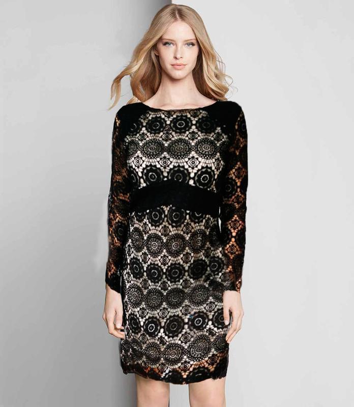 Кружевное гипюровое платье next  46-48