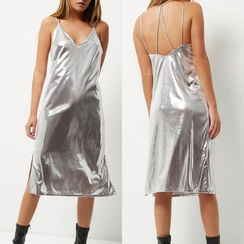 Распродажа зеркальное платье от river island s-m-l